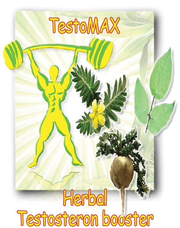 TestoMAX - Herbal Testosteron Booster  - 100 veggie-capsules